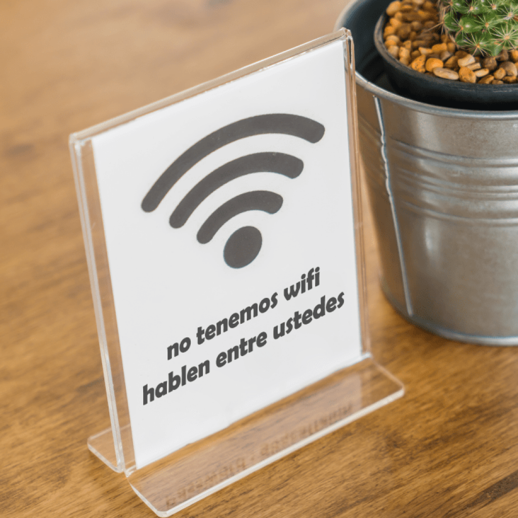 Internet veloz en hotel